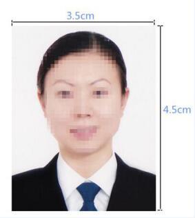 尼泊尔签证照片模板
